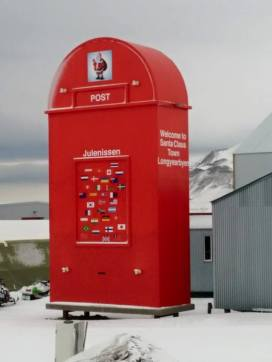 Who knew Lonyearbyen is the home of Santa Claus?